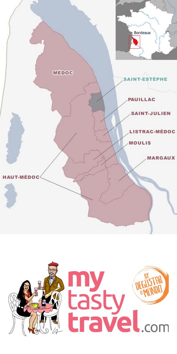 Carte Saint-Estèphe