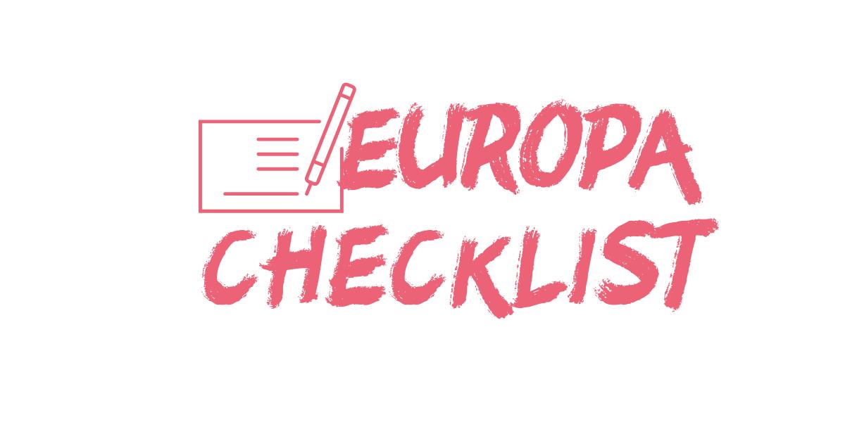 Documentos para viajar a Europa