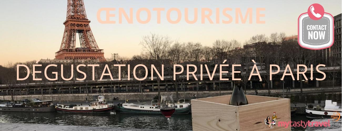 Dégustation vin à Paris