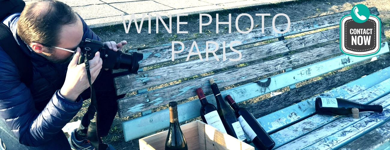 Photographe vin à Paris