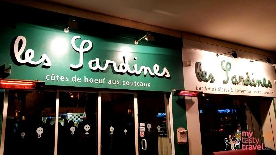 Les Sardines bar à vin à Pau