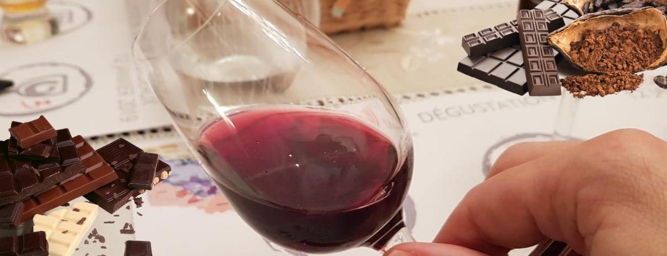 Dégustation chocolat vin à Paris