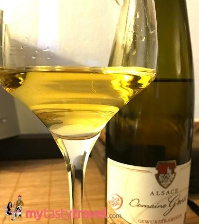 Vin d'Alsace – Gewurstraminer Rebgarten – Domaine Gross