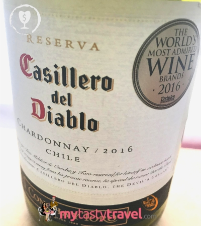 casillero del diablo Chardonnay 2016