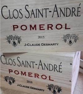 Pomerol Clos Saint André 2015