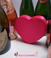 Champagne pour la Saint Valentin