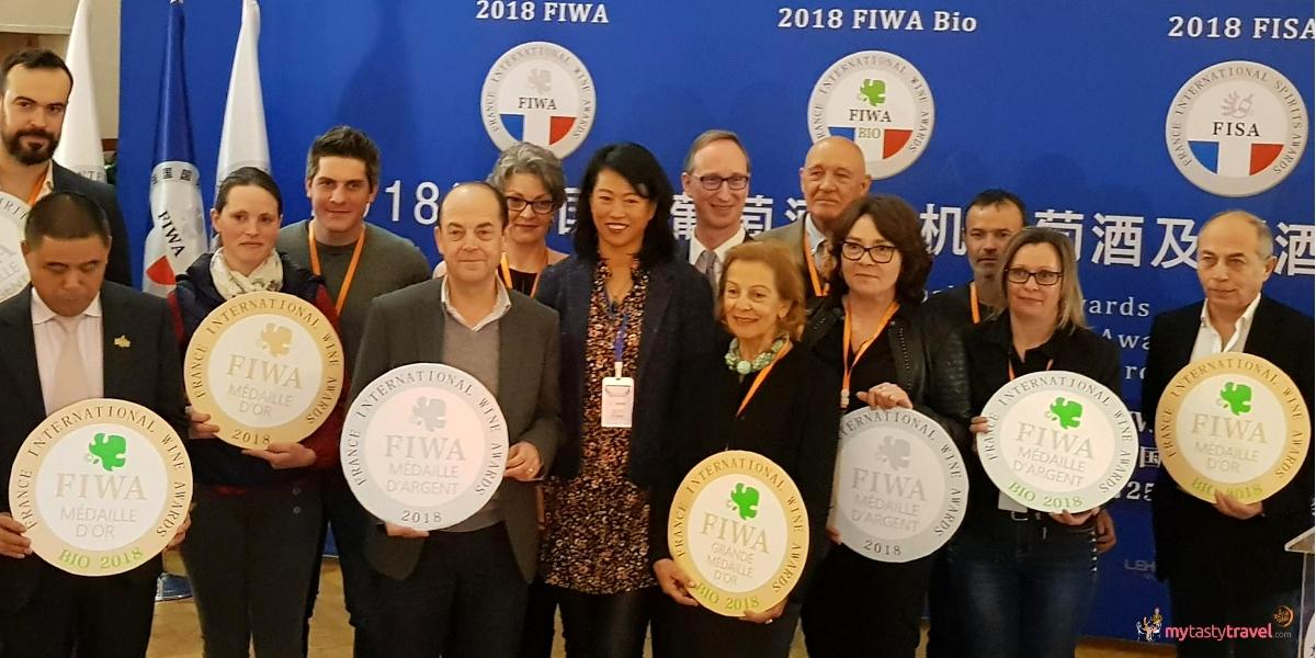 Les lauréats de la FIWA