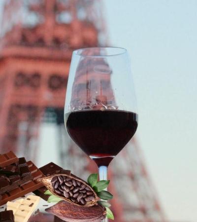 Ateliê vinho cacau em Paris