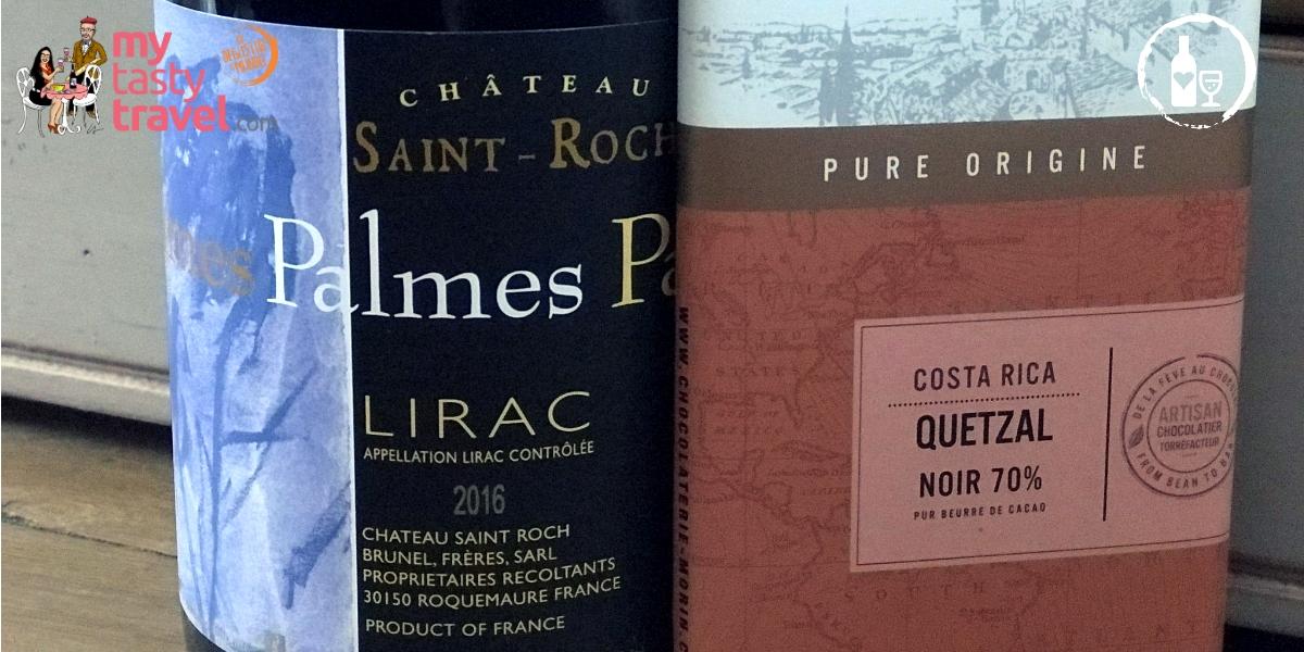 Lirac Palmes 2016 Château Saint Roch
