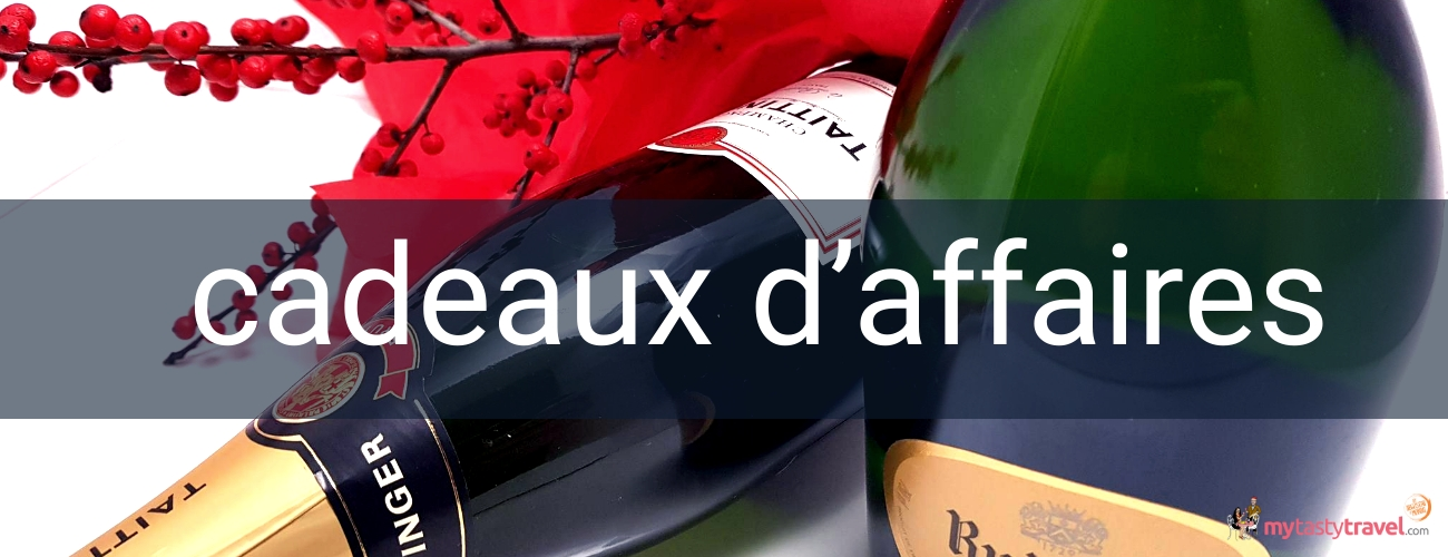 Cadeaux d'affaires vin, champagne