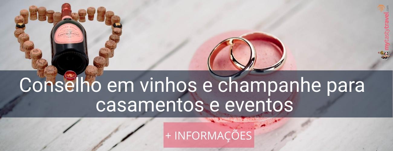 vinhos para casamento