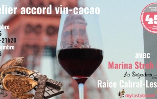 Accord vin-cacao