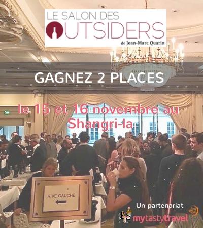 Gagnez des places pour le Salon des Outsiders à Paris