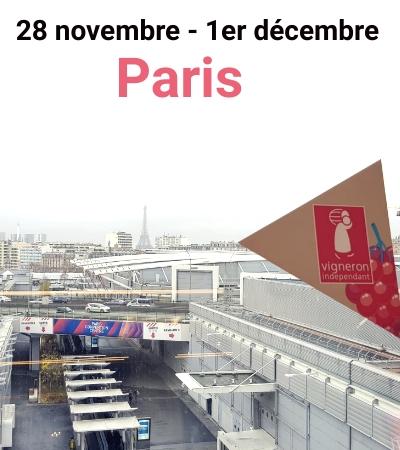 Salon des Vignerons Indépendants à Paris