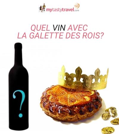 Accord vins Galette des rois