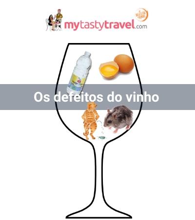 Os defeitos do vinho