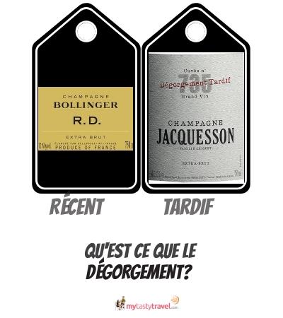 degorgement champagne