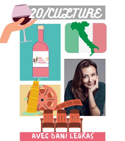 Vin et cinéma Italien